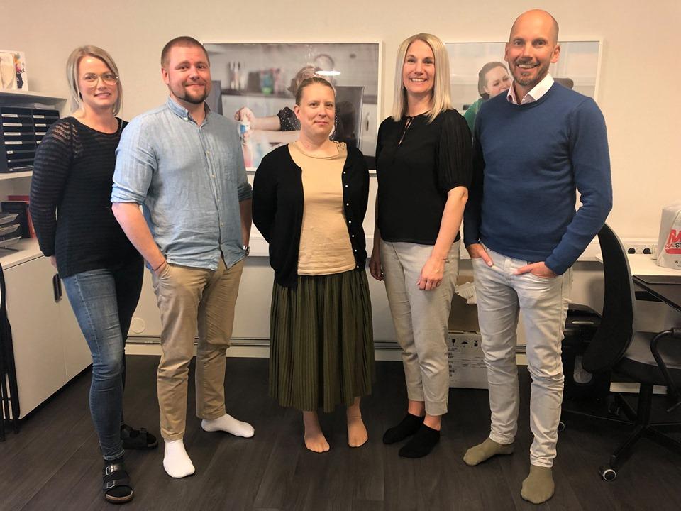 Invigning av God Assistans kontor i Skellefteå