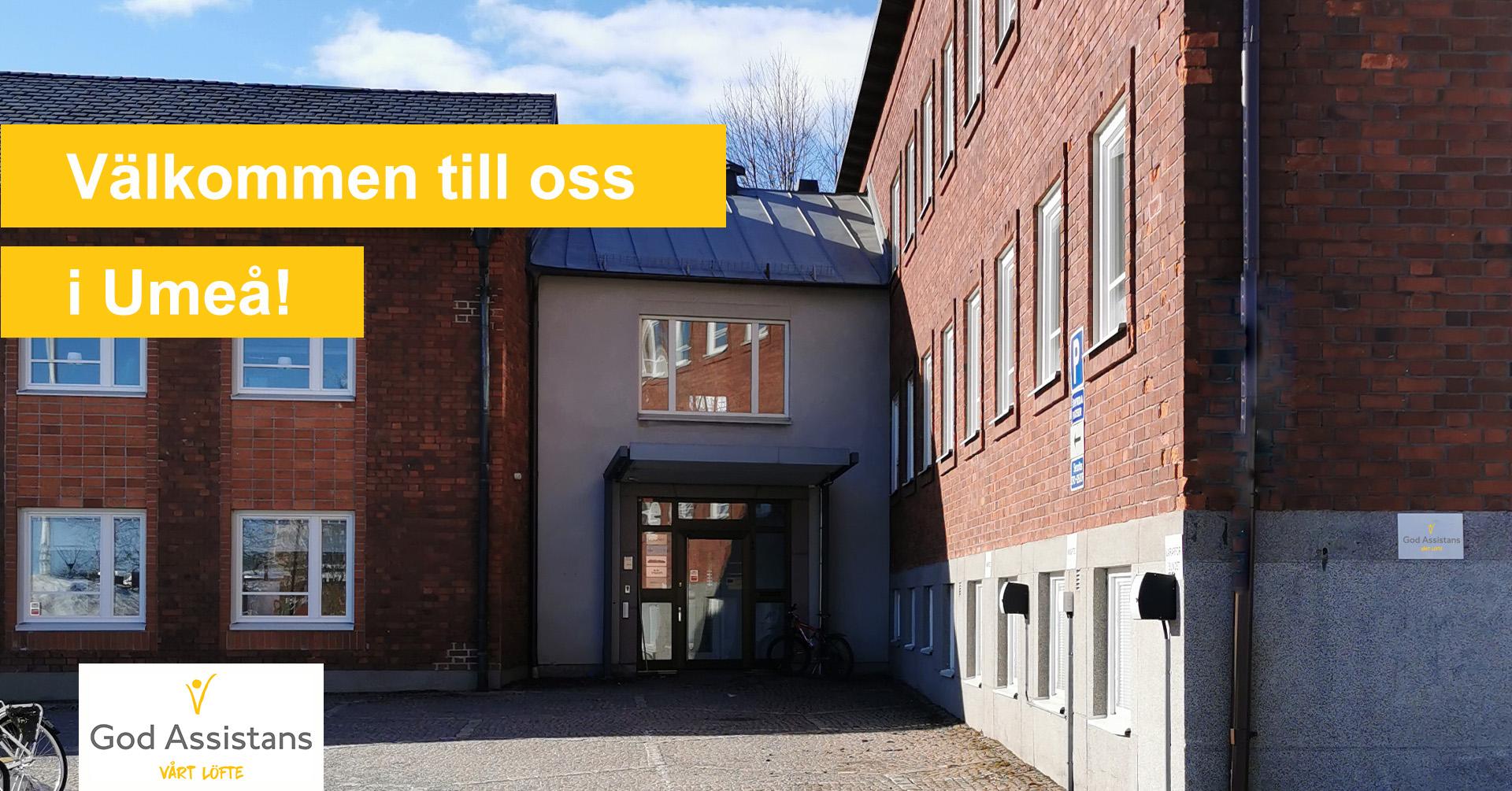 God Assistans kontor i Umeå